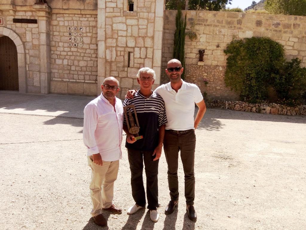 Ricardo Montés, Rafael Ballester y Santi Saurina