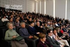 El 9-2-18, el público llenaba el acto de la presentación de la Novela.