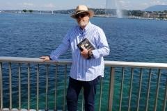 """La Novela """"El Guardián del Linaje"""" en Suiza, lago Leman de Ginebra"""