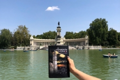 La Novela El Guardián del Linaje. Parque del Retiro de Madrid