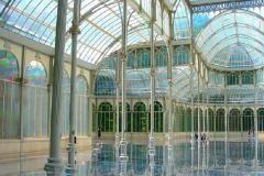 Interior del Palacio de Cristal. Parque del Retiro. Madrid.