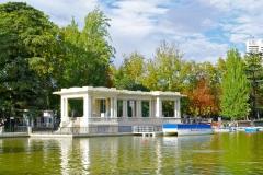 Jardines del Parque del Retiro de Madrid.