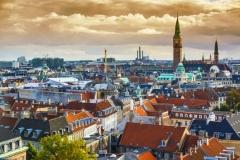 Dinamarca, Copenhague Torre del Ayuntamiento