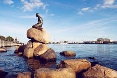 Dinamarca, Copenhague La Sirenita