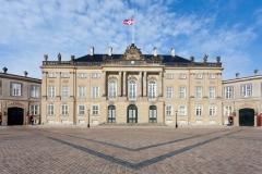 Dinamarca, Copenhague, Palacio de Amalienborg