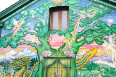 Dinamarca, Copenhague, entrada al Barrio de Cristiania