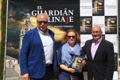 Jesus Bordera, Mª Luz Lurbe y Ricardo J. Montés.