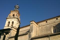"""Cara noroeste de la Torre. Campanas """"Els Albats"""" (izquierda) y """"Santa Barbara"""""""