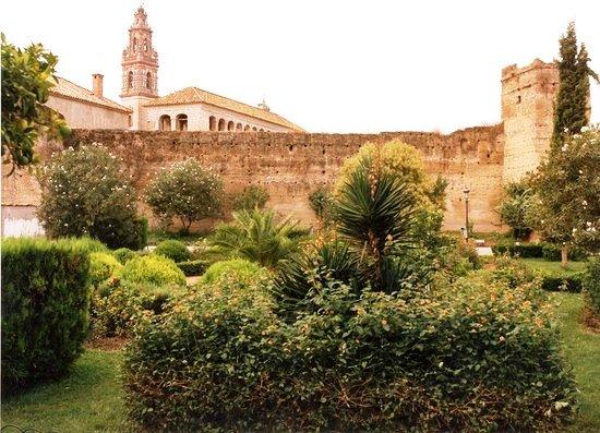 Jardines del Palacio Portocarrero en Palma del Río