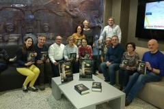 Presentacion de la Novela EL GUARDIÁN DEL LINAJE en el Hotel Gran Luna de Granada.