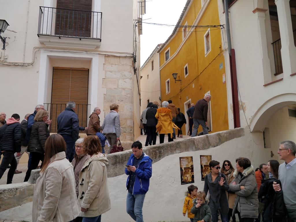 """La Ruta de """"El Guardián del Linaje"""" recorre la plaza de San Roc y el Carreró del Palau."""
