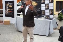Ricardo Montés en un momento de la presentacion.