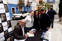 Ricardo Montés firma novelas a Gemma, Reme y Enrique Más.