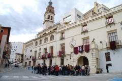 """La Ruta de """"El Guardián del Linaje"""" se detiene ante las puertas del viejo Cabildo"""