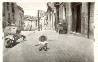 """LA """"PLAÇA DE BAIX"""" DE ONTINYENT, EL LUGAR EN DONDE NACÍ HACE 62 AÑOS"""