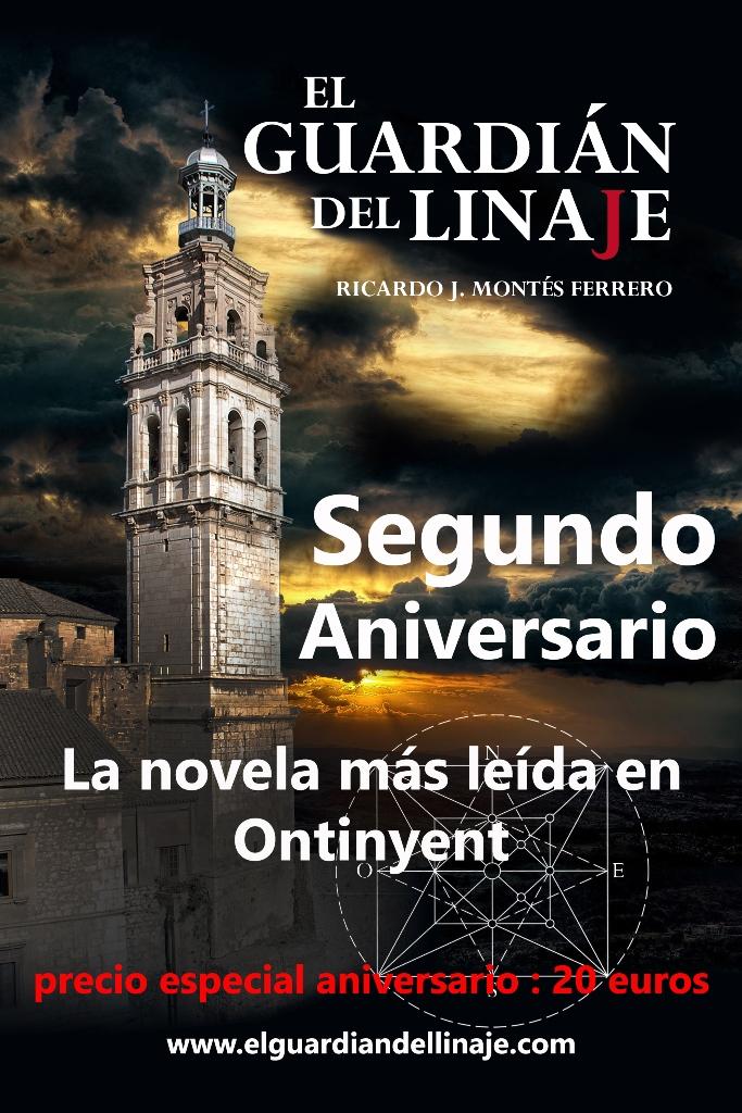 Segundo Aniversario de la publicación de esta apasionante Novela.