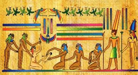 Papiro Lahun, data del 1800 a.C., al final de la dinastía XII del Imperio Medio de Egipto.